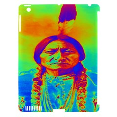 Sitting Bull Apple Ipad 3/4 Hardshell Case (compatible With Smart Cover) by icarusismartdesigns