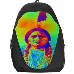 Sitting Bull Backpack Bag by icarusismartdesigns
