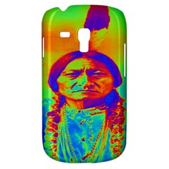 Sitting Bull Samsung Galaxy S3 Mini I8190 Hardshell Case by icarusismartdesigns