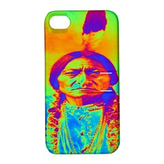 Sitting Bull Apple Iphone 4/4s Hardshell Case With Stand by icarusismartdesigns