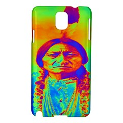 Sitting Bull Samsung Galaxy Note 3 N9005 Hardshell Case by icarusismartdesigns