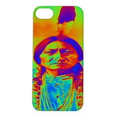 Sitting Bull Apple Iphone 5s Hardshell Case by icarusismartdesigns