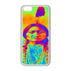 Sitting Bull Apple Iphone 5c Seamless Case (white) by icarusismartdesigns