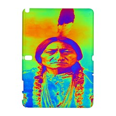 Sitting Bull Samsung Galaxy Note 10 1 (p600) Hardshell Case by icarusismartdesigns