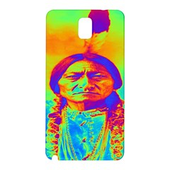 Sitting Bull Samsung Galaxy Note 3 N9005 Hardshell Back Case by icarusismartdesigns
