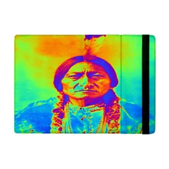 Sitting Bull Apple Ipad Mini 2 Flip Case by icarusismartdesigns