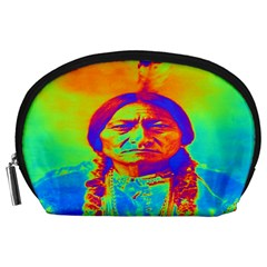 Sitting Bull Accessory Pouch (large) by icarusismartdesigns