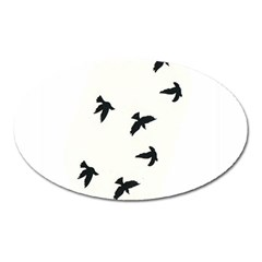 Waterproof Temporary Tattoo      Three Birds Magnet (oval) by zaasim