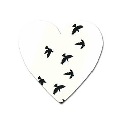 Waterproof Temporary Tattoo      Three Birds Magnet (heart) by zaasim