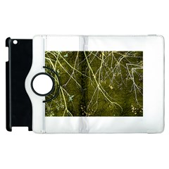 Wild Nature Collage Print Apple Ipad 2 Flip 360 Case by dflcprints