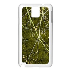 Wild Nature Collage Print Samsung Galaxy Note 3 N9005 Case (white) by dflcprints
