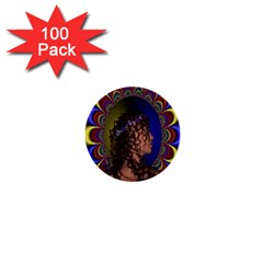 New Romantic 1  Mini Button (100 Pack)