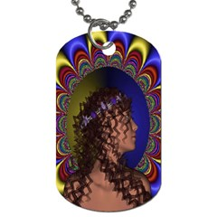 New Romantic Dog Tag (one Sided) by icarusismartdesigns