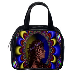 New Romantic Classic Handbag (one Side) by icarusismartdesigns