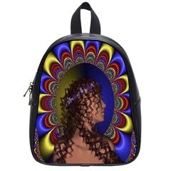New Romantic School Bag (small) by icarusismartdesigns