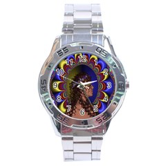 New Romantic Stainless Steel Watch by icarusismartdesigns
