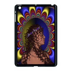 New Romantic Apple Ipad Mini Case (black) by icarusismartdesigns