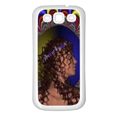 New Romantic Samsung Galaxy S3 Back Case (white) by icarusismartdesigns