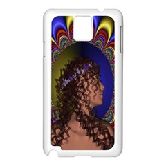 New Romantic Samsung Galaxy Note 3 N9005 Case (white) by icarusismartdesigns