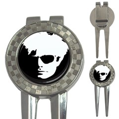 Warhol Golf Pitchfork & Ball Marker by icarusismartdesigns