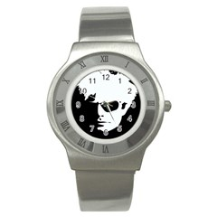 Warhol Stainless Steel Watch (slim) by icarusismartdesigns