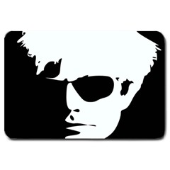 Warhol Large Door Mat by icarusismartdesigns