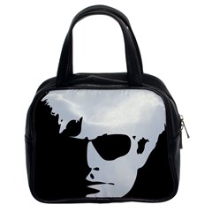 Warhol Classic Handbag (two Sides) by icarusismartdesigns