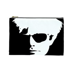 Warhol Cosmetic Bag (large) by icarusismartdesigns