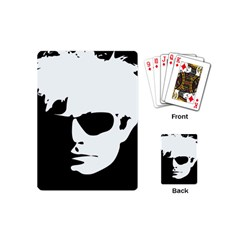 Warhol Playing Cards (mini) by icarusismartdesigns