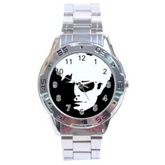 Warhol Stainless Steel Watch by icarusismartdesigns