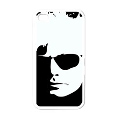 Warhol Apple Iphone 4 Case (white) by icarusismartdesigns