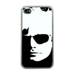 Warhol Apple Iphone 4 Case (clear) by icarusismartdesigns