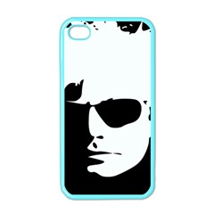 Warhol Apple Iphone 4 Case (color) by icarusismartdesigns
