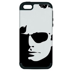 Warhol Apple Iphone 5 Hardshell Case (pc+silicone) by icarusismartdesigns