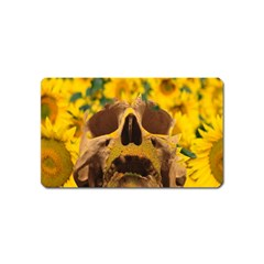 Sunflowers Magnet (name Card) by icarusismartdesigns