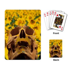 Sunflowers Playing Cards Single Design by icarusismartdesigns