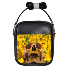 Sunflowers Girl s Sling Bag by icarusismartdesigns