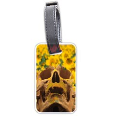 Sunflowers Luggage Tag (one Side) by icarusismartdesigns
