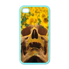 Sunflowers Apple Iphone 4 Case (color) by icarusismartdesigns