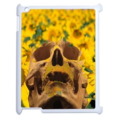 Sunflowers Apple Ipad 2 Case (white) by icarusismartdesigns