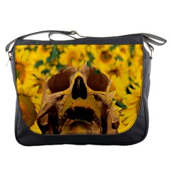 Sunflowers Messenger Bag by icarusismartdesigns