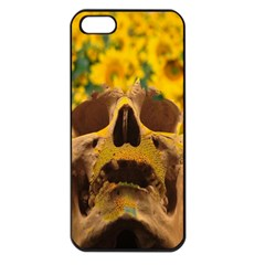 Sunflowers Apple Iphone 5 Seamless Case (black) by icarusismartdesigns