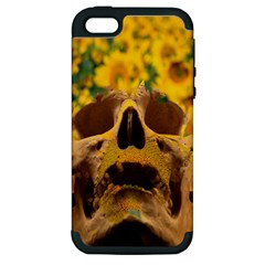 Sunflowers Apple Iphone 5 Hardshell Case (pc+silicone) by icarusismartdesigns
