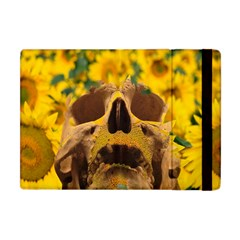 Sunflowers Apple Ipad Mini Flip Case by icarusismartdesigns