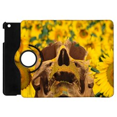 Sunflowers Apple Ipad Mini Flip 360 Case by icarusismartdesigns