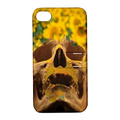 Sunflowers Apple Iphone 4/4s Hardshell Case With Stand by icarusismartdesigns