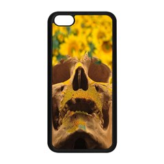 Sunflowers Apple Iphone 5c Seamless Case (black) by icarusismartdesigns