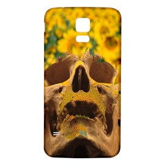 Sunflowers Samsung Galaxy S5 Back Case (white) by icarusismartdesigns