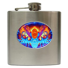 Escape From The Sun Hip Flask by icarusismartdesigns