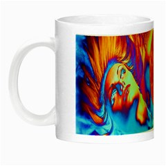 Escape From The Sun Glow In The Dark Mug by icarusismartdesigns